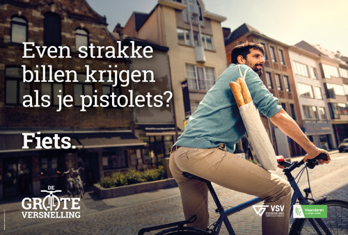 VSV en Bonka Circus geven het fietsgebruik een duwtje in de rug met De Grote Versnelling