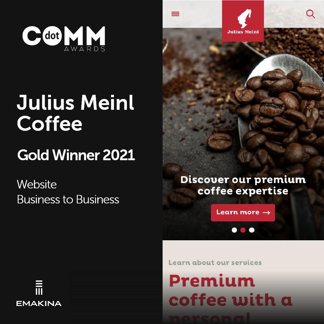 Julius Meinl - Gold Winner