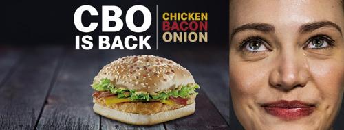 Preview: Hourra! McDonald's remet le mythique CBO à la carte