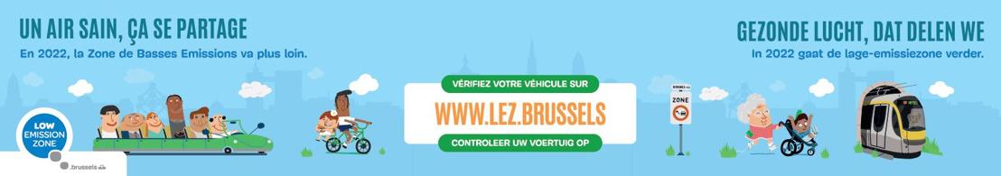 Nouveau palier dès 2022 pour la LEZ à Bruxelles