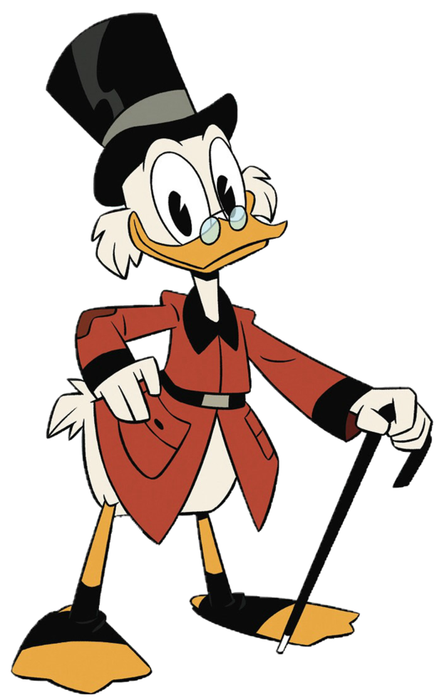 Dagobert Duck in DuckTales (stem)