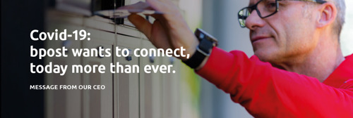 bpost wants to connect, today more than ever