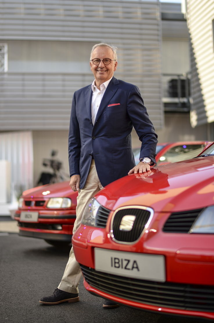 Walter de Silva, current Head of Design at the Volkswagen Group, was commissioned to create the third generation of the Ibiza in 2002