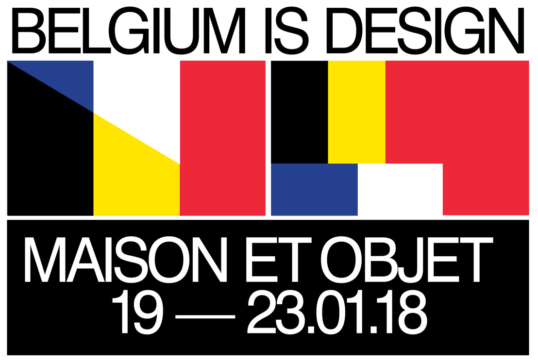 Belgium is Design - Maison & Objet - Paris 2018