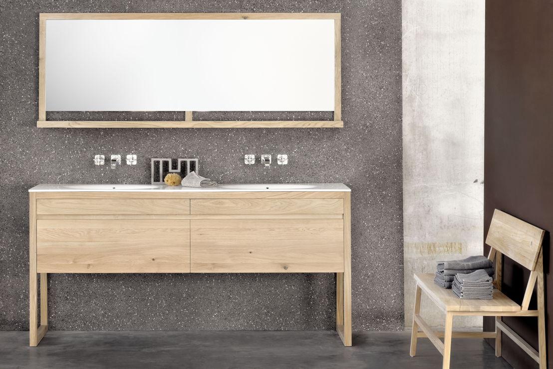 Ethnicraft Bathroom -<br/> Cuadro collection in solid oak