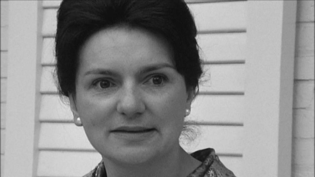 De werkende mens - Aflevering 2 : Vrouwen op de rand van ... - actrice Jeannine Bernaus, moeder van loods Johan Caramin - (c) VRT