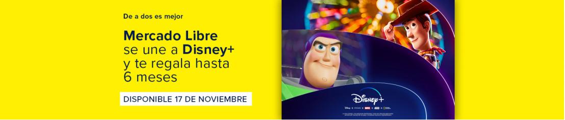 Disney+ llega a Mercado Libre