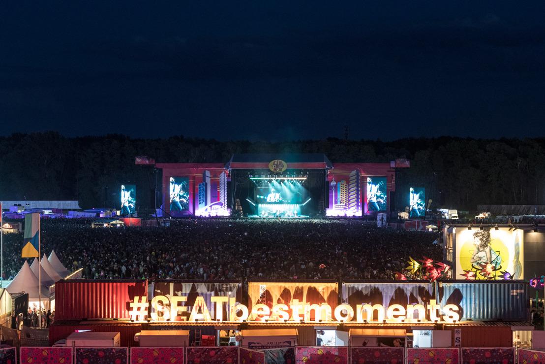 SEAT s'investit dans la musique avec LollaPalooza Paris et Berlin