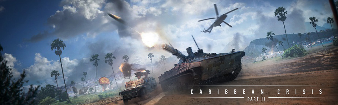 "ARMORED WARFARE ""CARIBBEAN CRISIS – PART II"" AVAILABLE ON PC"