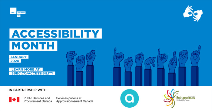 January is Accessibility Month at Small Business BC