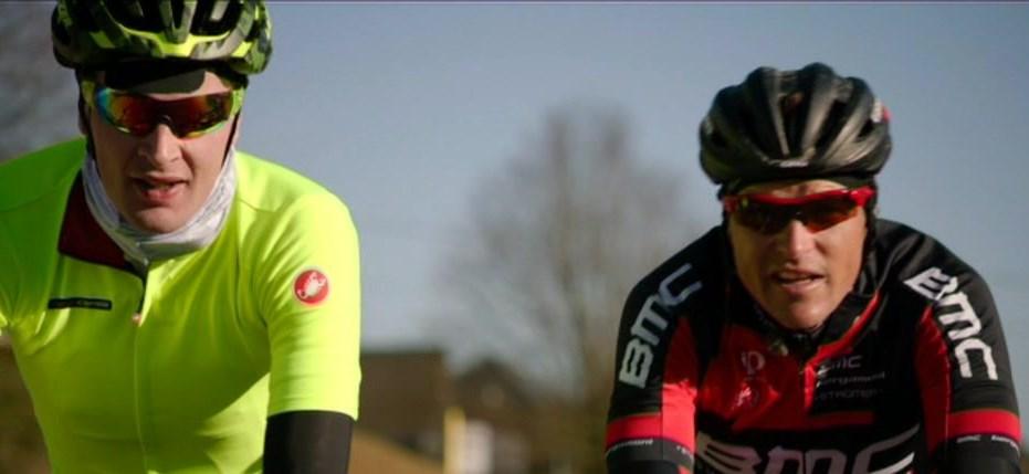 Ruben Van Gucht en Greg Van Avermaet - (c) VRT