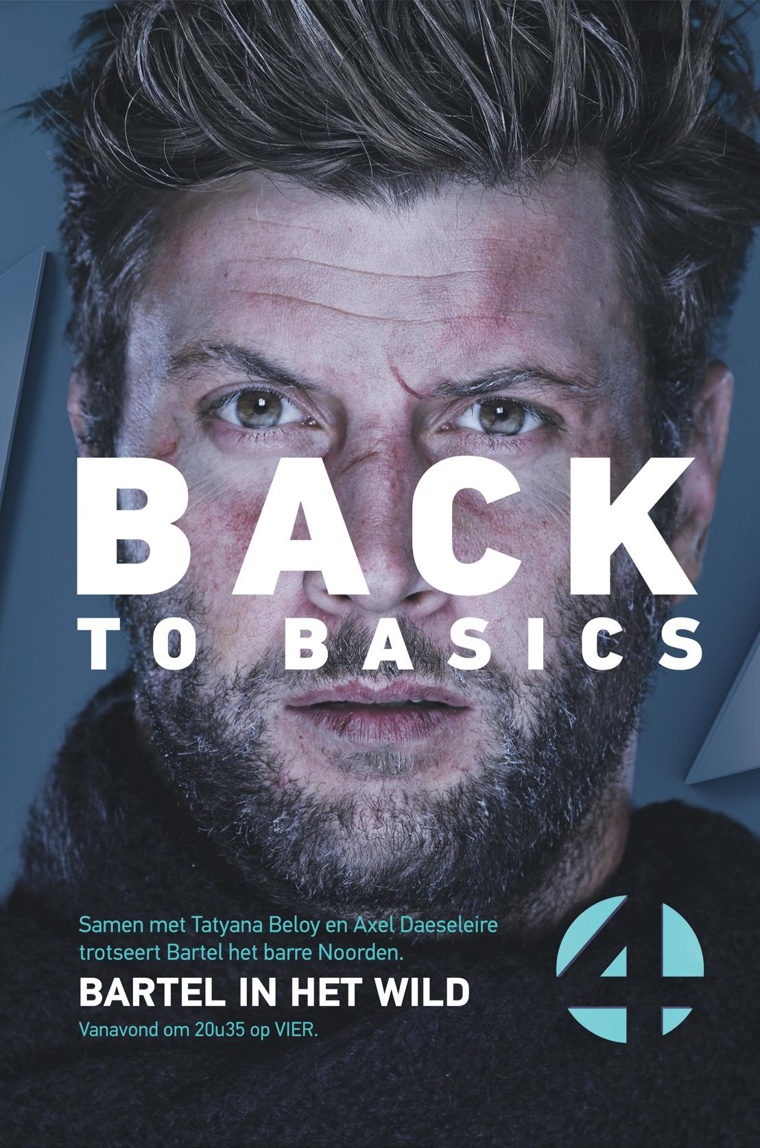 Bartel in het Wild. Back to basics met Tatyana Beloy en Axel Daeseleire.