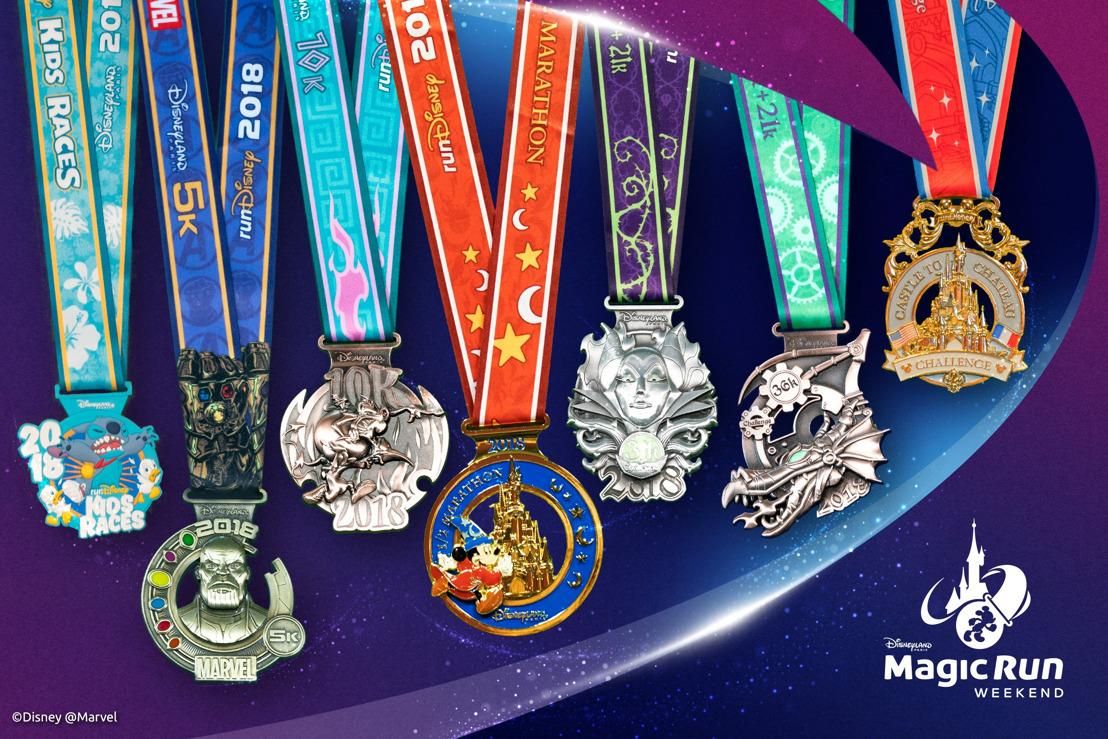 De medailles voor het Disneyland® Paris Magic Run Weekend 2018 zijn onthuld
