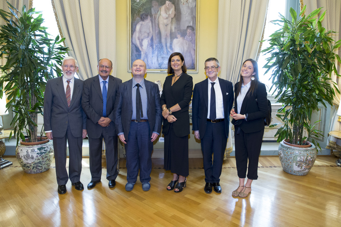 LEGA DEL FILO D'ORO INCONTRA LA PRESIDENTE DELLA CAMERA LAURA BOLDRINI PER RACCONTARE LA SORDOCECITÀ IN ITALIA
