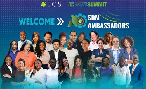 OECS Welcomes New Cohort of SDM Ambassadors