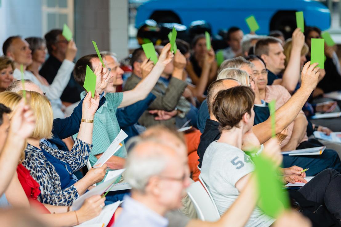 Octroi d'un dividende de 4,4 % aux coopérants d'EDF Luminus Wind Together scrl