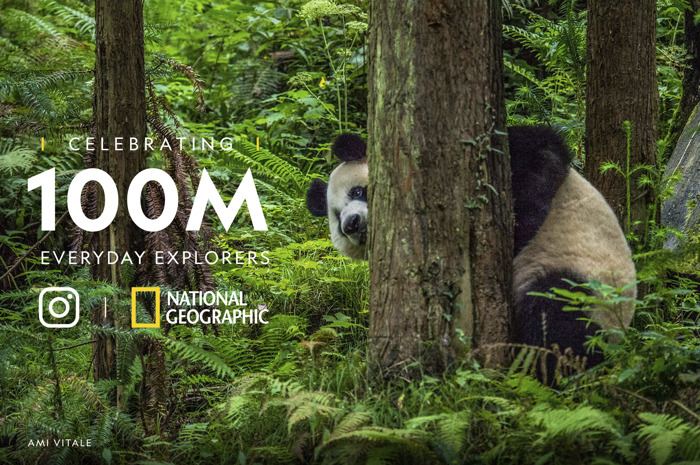 National Geographic community propels @NatGeo Instagram account to record-breaking 100 million followers, becoming first brand ever to reach coveted number