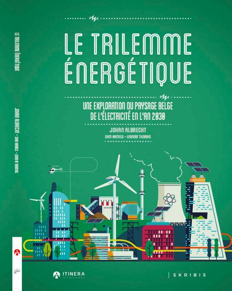 """La cover du livre """"Trilemme énergétique"""""""