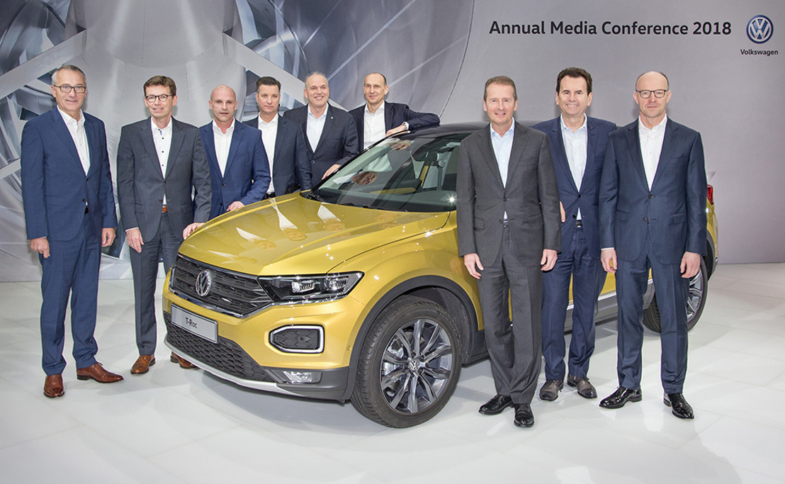 Successful financial year 2017: Volkswagen brand implements product and innovation offensive consistently