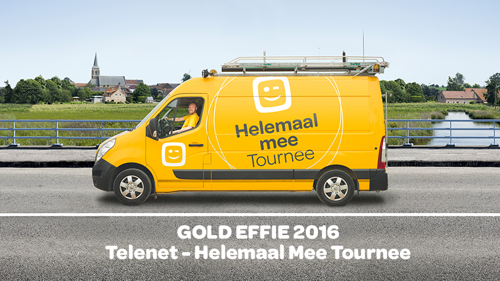 TBWA WINS GOLD AND BRONZE AT EFFIE AWARDS BELGIUM