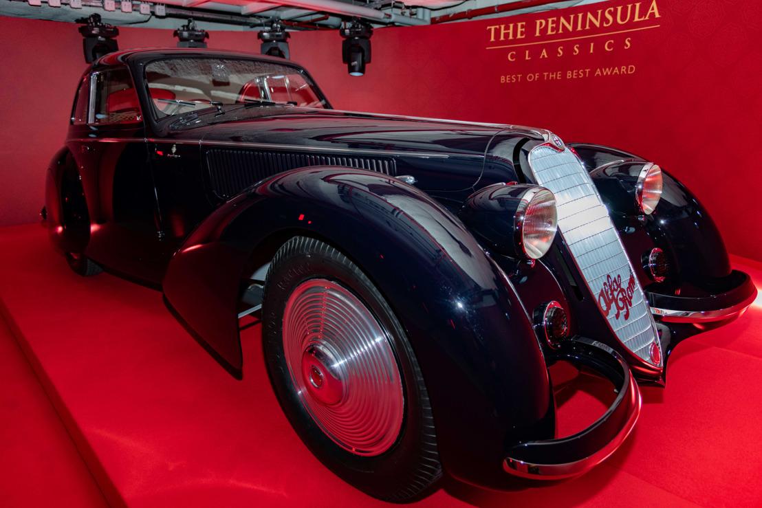 EL 1937 ALFA ROMEO 8C 2900B BERLINETTA ES NOMBRADO EL AUTOMÓVIL MÁS PRESTIGIOSO DEL MUNDO
