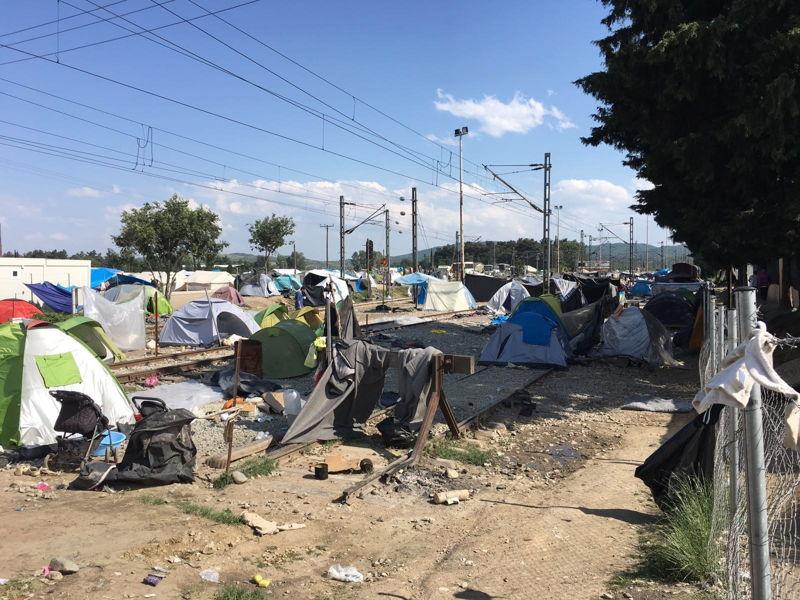 Idomeni camp eviction. Photograpaher: Amir Karimi