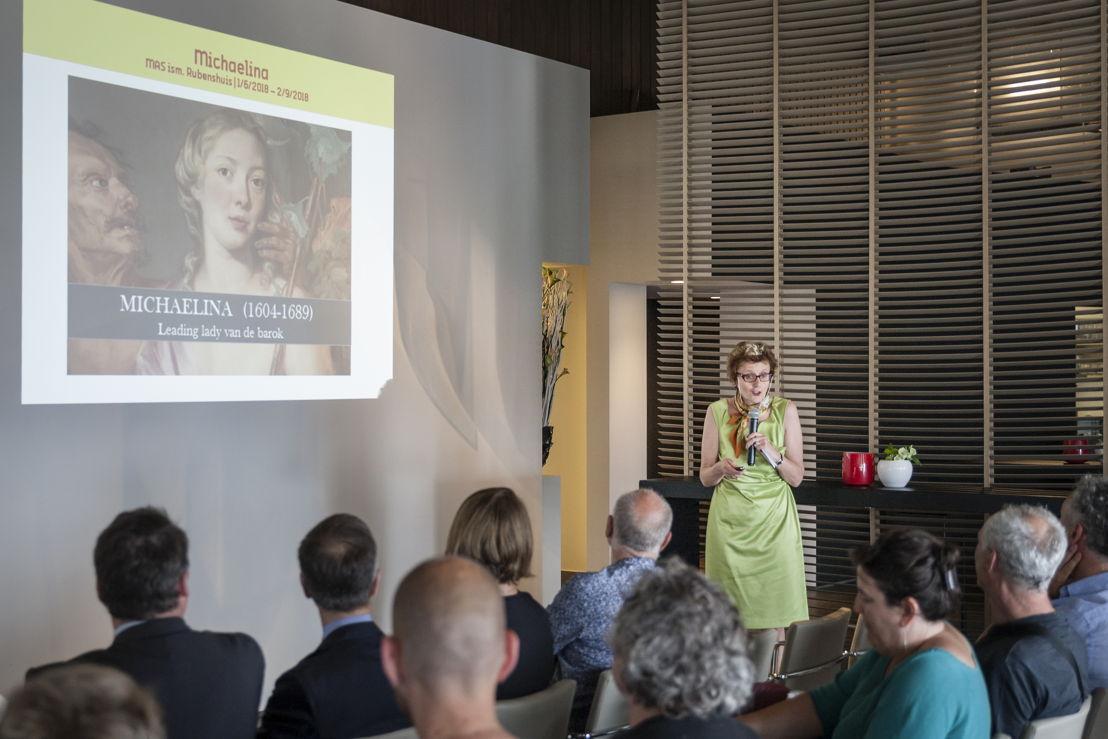 Katlijne Van der Stighelen, curator, photo Ans Brys