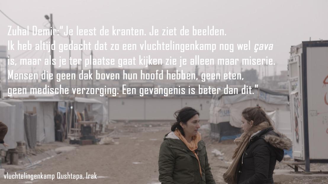 VIER-programma Terug naar eigen land toont schrijnende omstandigheden in vluchtelingenkampen.
