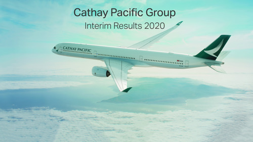 Cathay Pacific announces 2020 Interim Results