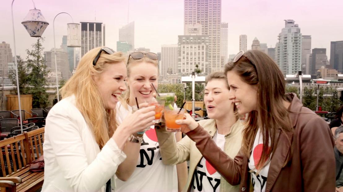 Een toast op New York