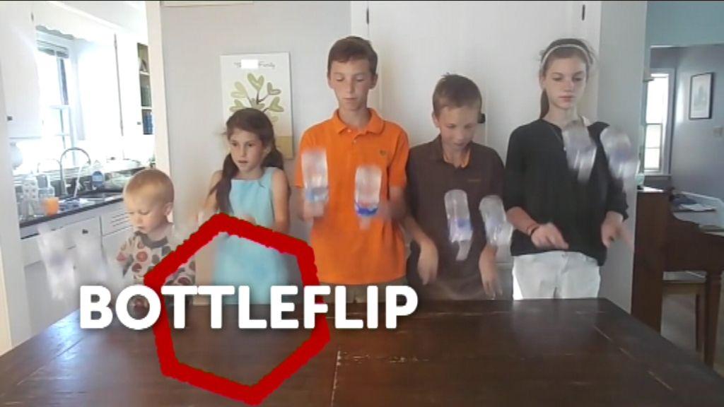 Kinderwoord van het jaar - Bottleflip - (c) VRT
