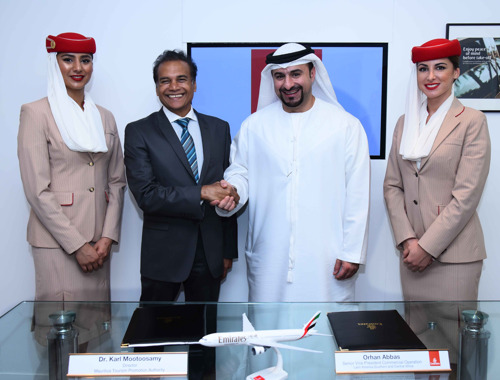 Emirates Expands Marketing Agreements with the Tourism Boards of South Africa, Seychelles and Mauritius