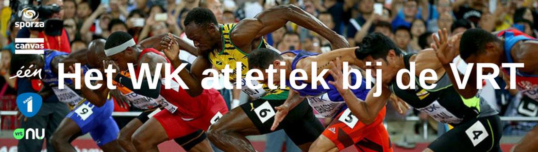 Het WK atletiek bij de VRT