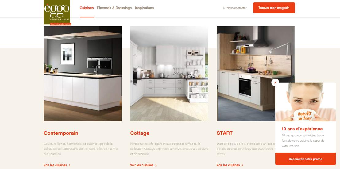 Nieuwe website @èggo