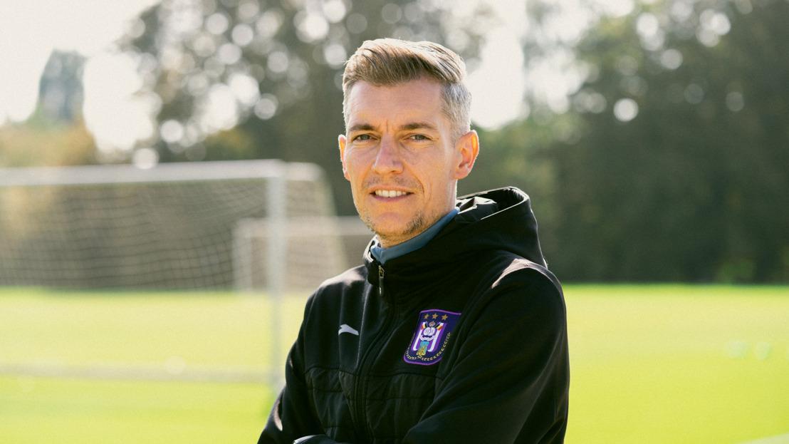 Willem Weijs rejoint le staff sportif du RSC Anderlecht