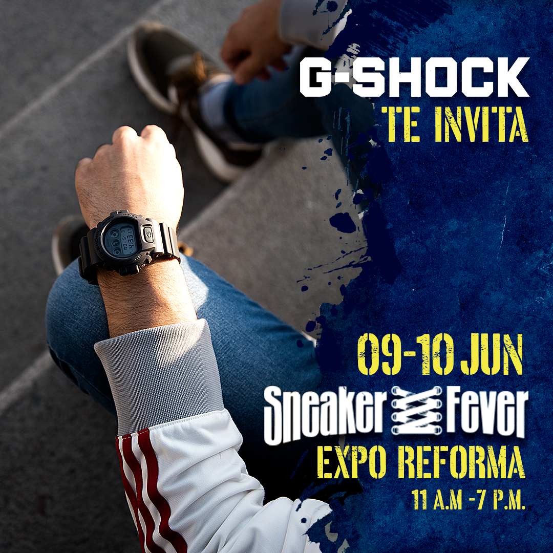 G-SHOCK x  SNEAKER FEVER