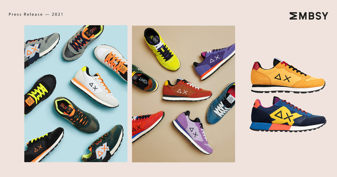 SUN68 brightens up dark days with the colorful sneaker collection