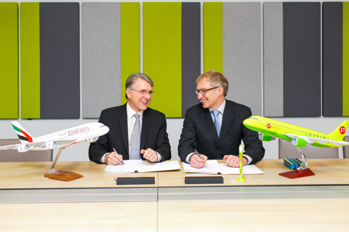 Emirates Skywards and S7 to sign partnership agreement