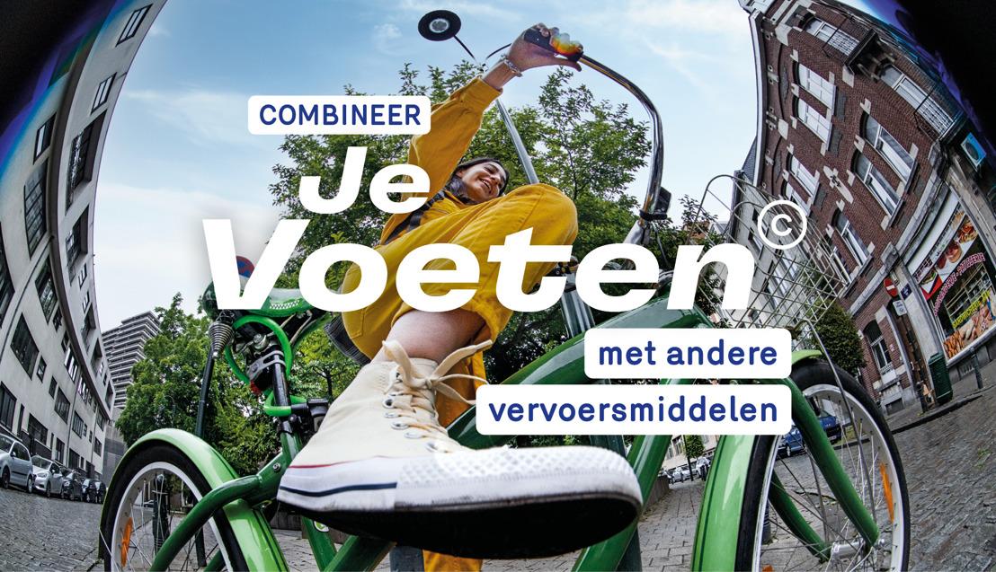 Brussel Mobiliteit en mortierbrigade/VO communications zetten ons aan om de Je Voeten© te gebruiken, en meer.