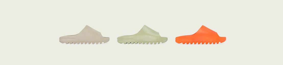 adidas + KANYE WEST anuncian la llegada de YEEZY SLIDE PURE, RESIN & ENFLAME ORANGE