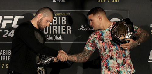UFC 242: Diamonds and Eagles — Khabib Nurmagomedov vs. Dustin Poirier