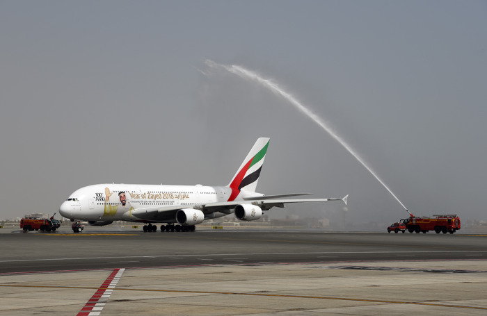 Emirates A380 makes one-off landing in Muscat