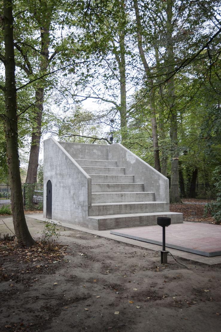 Dennis Tyfus, De Nor, 2018<br/>Middelheimmuseum, Antwerpen<br/>Copyright Dennis Tyfus<br/>Foto Ans Brys