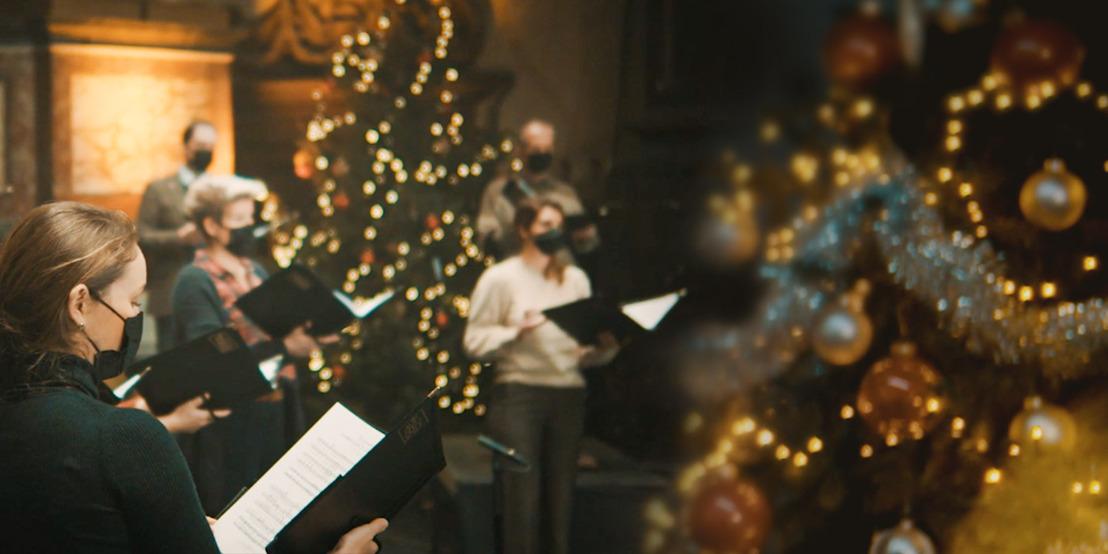 Le Vlaams Radiokoor et Boondoggle offrent aux Belges un concert de Noël virtuel.