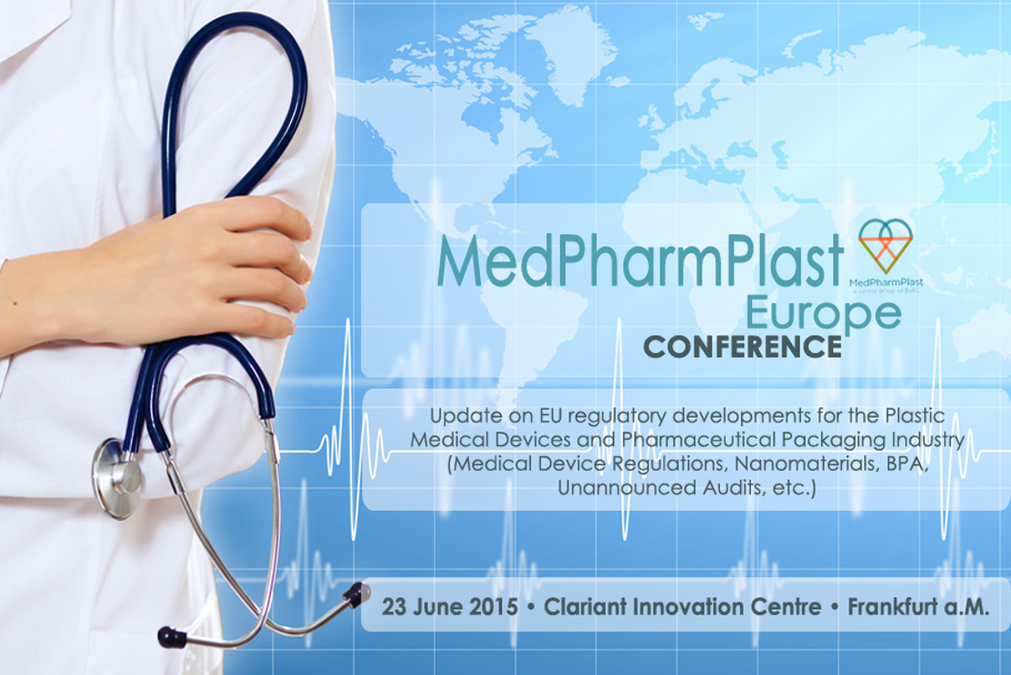 SAVE THE DATE - MedPharmPlast Europe Conference in Frankfurt, 23 June 2015