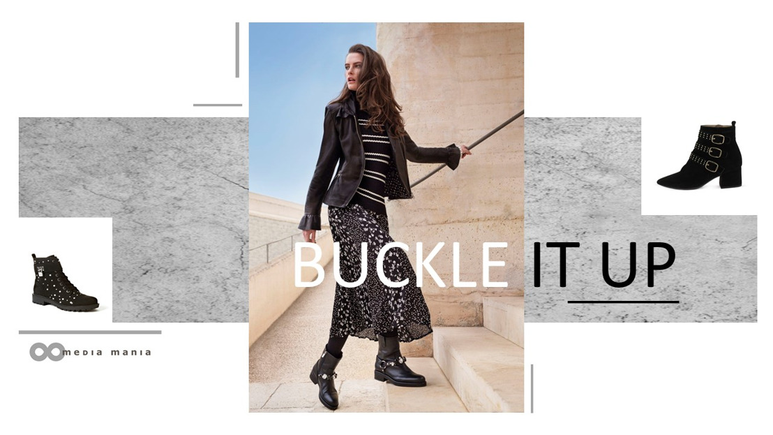 Trend Women Shoes FW18 : Buckle it up