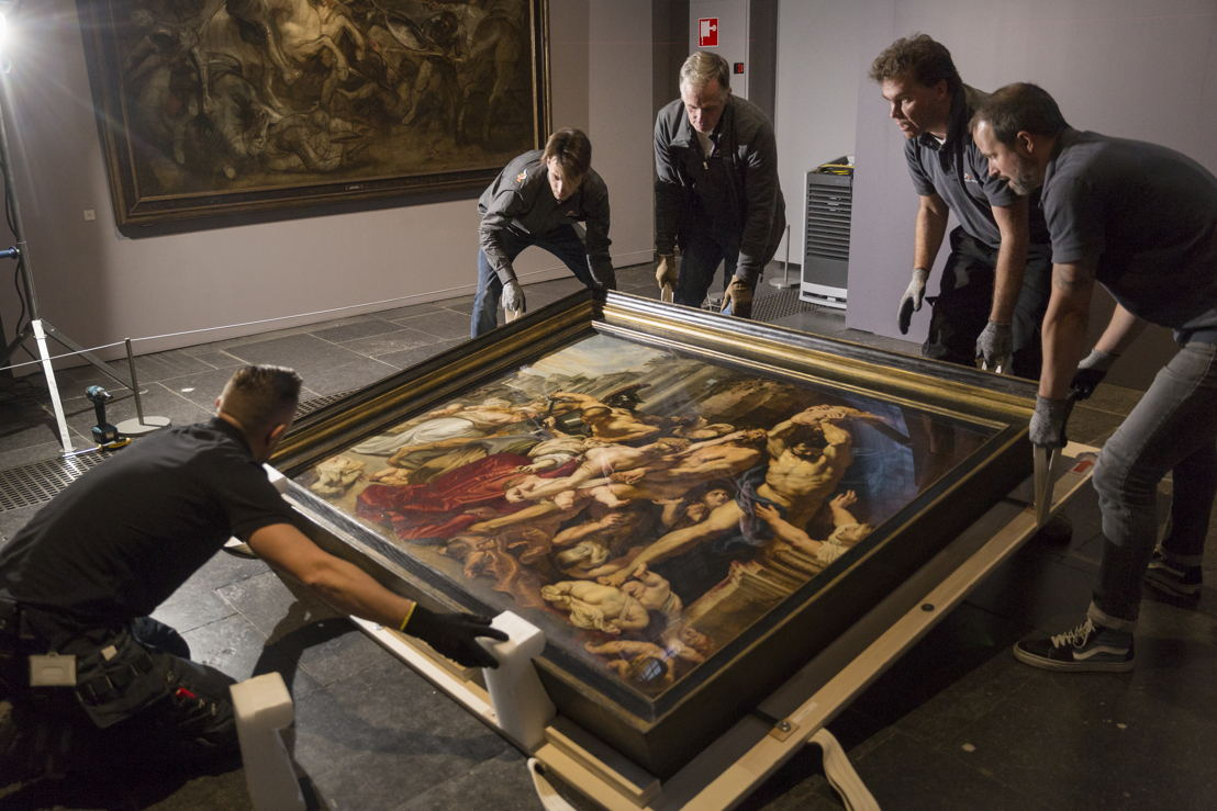 Image name: 29_Rubens, Arrival of the Massacre at the Rubens House, The Thomson Collection at the Art Gallery of Ontario, Art Gallery of Ontario, photo Ans Brys.jpg
