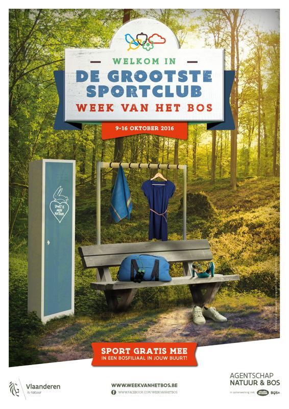 Affiche Week van het Bos 2016