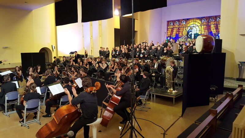 CONCERT Frascati Symphonic 'Music for Peace' van Karl Jenkins