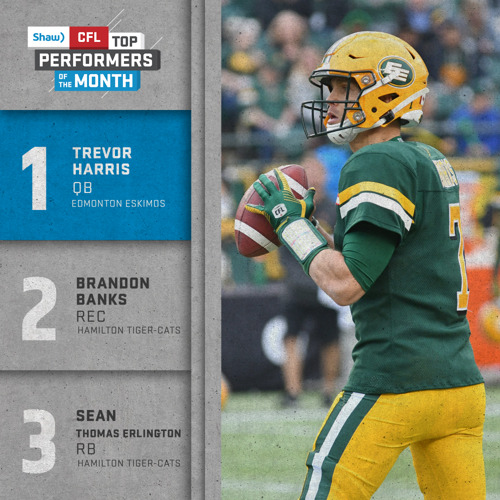 SHAW CFL TOP PERFORMERS – JUNE